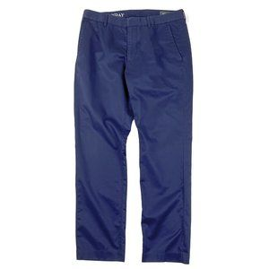 Bonobos Monday Pants Slim Fit Cotton Blue 32x30